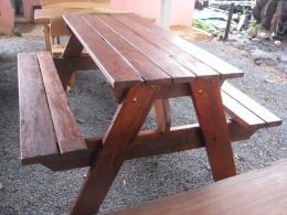 B010 โต๊ะอาหารสำหรับโรงอาหาร ขนาด 75 150 ซม