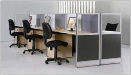 โต๊ะทำงาน ชุดทำงาน  6 ที่นั่ง