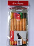 ปากกาหัวเข็ม STABILO POINT 8810