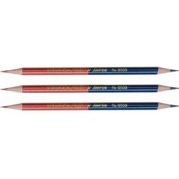 ดินสอน้ำเงิน-แดงตราม้า H-8500