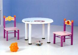 โต๊ะเด็ก ชุดโต๊ะเก้าอี้เด็กกลม
