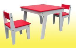 โต๊ะทำการบ้านเด็ก เหลี่ยมเทม