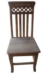 เก้าอี้หลังยาว (ไม้มัณฑเลย์อบ)