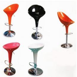 เก้าอี้บาร์ไฟเบอร์ มีโช๊คอัพปรับระดับได้ bar-stool