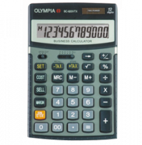 เครื่องคำนวณแบบกึ่งตั้งโต๊ะOLYMPIA BC 820 VTX