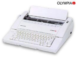 เครื่องพิมดีดOLYMPIA CARRERA  II  BT