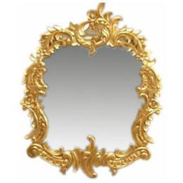 กระจกกรอบทองฝรั่งเศส MR005