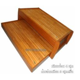 เตียงลิ้นชักขนาด4ฟุตไม้สัก_035