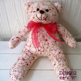 ตุ๊กตาหมี ผ้าคอตตอน dbs002