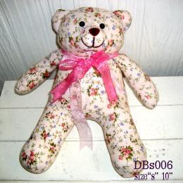 ตุ๊กตาหมี ผ้าคอตตอน dbs006