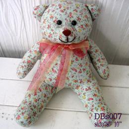 ตุ๊กตาหมี ผ้าคอตตอน dbs007
