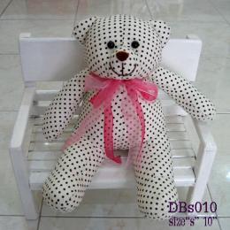 ตุ๊กตาหมี ผ้าคอตตอน dbs010