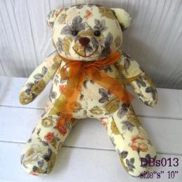 ตุ๊กตาหมี ผ้าคอตตอน dbs013