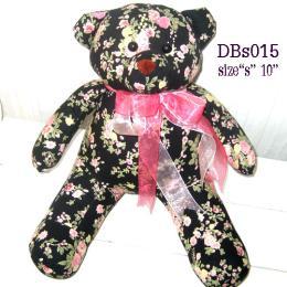 ตุ๊กตาหมี ผ้าคอตตอน dbs015