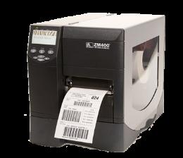 เครื่องพิมพ์บาร์โค้ด ยี่ห้อ Zebra รุ่น ZM400