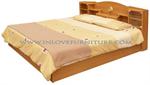 เตียงไม้ระแนง 5 ฟุต รุ่น Simple Bed