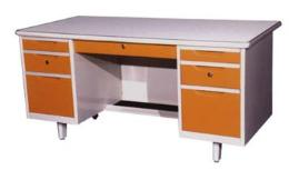 โต๊ะสำนักงานเหล็ก ขนาด 5 ฟุต