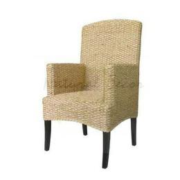 เก้าอี้ผักตบชวา  CH01012-WH