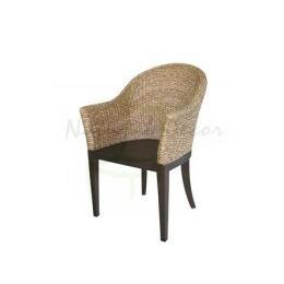 เก้าอี้ผักตบชวา CH01014-WH