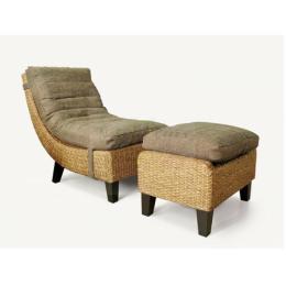 เก้าอี้ผักตบชวา DB03003-WH