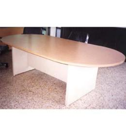 โต๊ะประชุม 6-8 ที่นั่ง แบบวงรี 00343