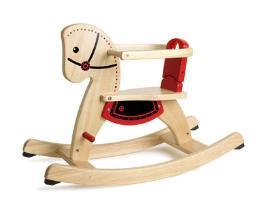 ของเล่นที่ทำจากไม้SHETLAND ROCKING HORSE