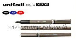 ปากกา UNI BALL MICRO DELUXE UB-155 สีน้ำเงิน