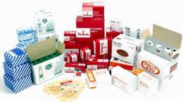 ผลิตภัณฑ์เพื่อการโฆษณา กล่องบรรจุภัณฑ์