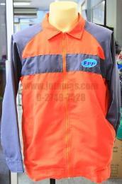 เสื้อแจ็คเก็ต ผ้าไมโครพีชตัดแต่ง jacket204