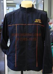 เสื้อแจ็คเก็ต ผ้าทาสลานตัดแต่ง jacket201