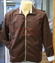 เสื้อแจ็คเก็ต ผ้าคอมทวิว 210 เส้น jacket196