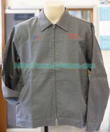 เสื้อแจ็คเก็ต ผ้าคอมทวิวชั้นเดียว jacket178