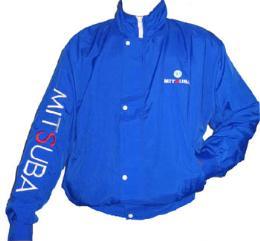 เสื้อแจ็คเก็ต ผ้าร่ม ปักแขนยาว jacket103