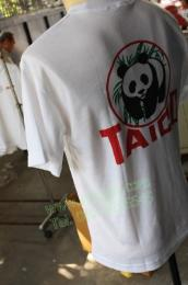 เสื้อคอกลม สีขาว พิมพ์ tshirt102