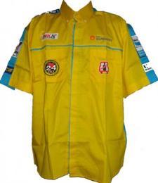เสื้อฟอร์มพนักงาน ปักหลายจุด  uniform164