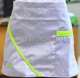 ผ้ากันเปื้อน ครึ่งตัวออกแบบพิเศษ apron108