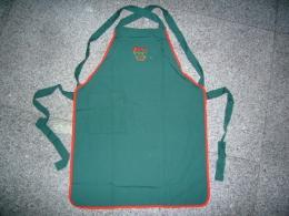 ผ้ากันเปื้อนเต็มตัวขอบสี apron104