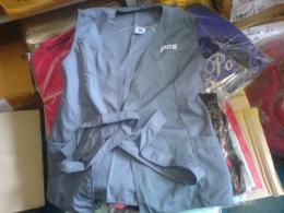 เสื้อกั๊ก ใส่ป้องกันความเปื่อนฝุ่น apron1
