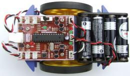 หุ่นยนต์ Built-in programmer for AVR