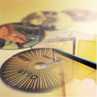 ผ้าสกรีนสำหรับพิมพ์ลงบนแผ่น CD