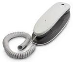 โทรศัพท์แขวนสีขาว