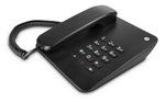 โทรศัพท์ตั้งโต๊ะสีดำ