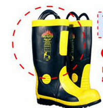 รองเท้าพนักงานดับเพลิง 8687 CE EN 345