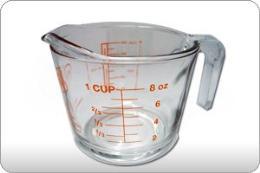 ถ้วยตวงแก้ว