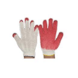 ถุงมือผ้าเคลือบยาง CG301-RE
