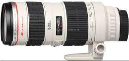 เลนส์ รุ่น EF70-200mm f/2.8L USM