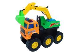 รถของเล่นBig Foot Digger Truck548