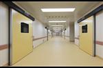 ประตูบานเลื่อนอัตโนมัติสำหรับห้องปลอดเชื้อ