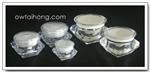 กระปุกคริสตัล 50ml - 50ml Diamond Crystal Cream Jar
