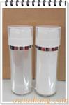 ขวดสูญญากาศพลาสติกกดกลาง รุ่น D2 80มล. - 80ml D2 Vacuum Bottle with Liquid Pump
